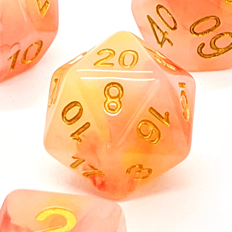 Fire Opal | Dice Set