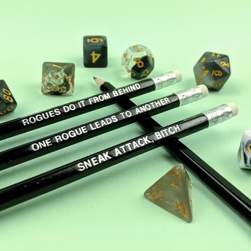 D&D Class Pencil Set | Rogue