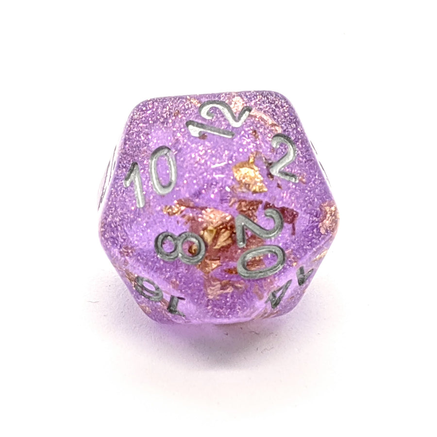 Midas Touch in Purple | Dice Set