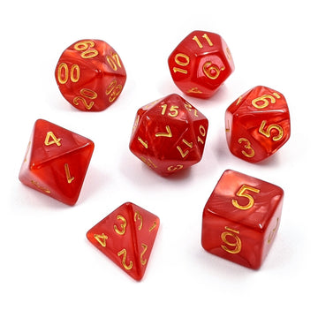 Crimson Pearl | Dice Set