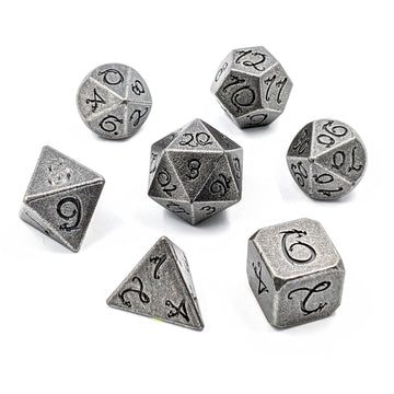 Dragon Forged Metal Dice | Aged Iron