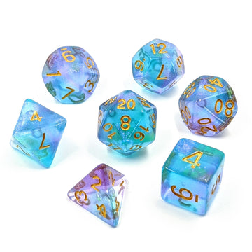Aquarius Zodiac | Dice Set