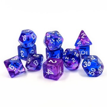 Ink Drops | 11pc Dice Set