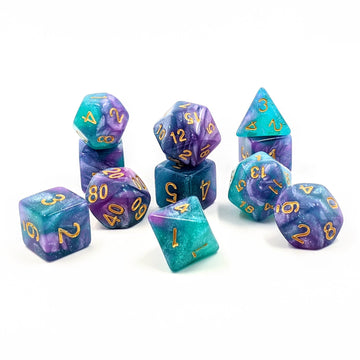 Mermaids Tale | 11pc Dice Set