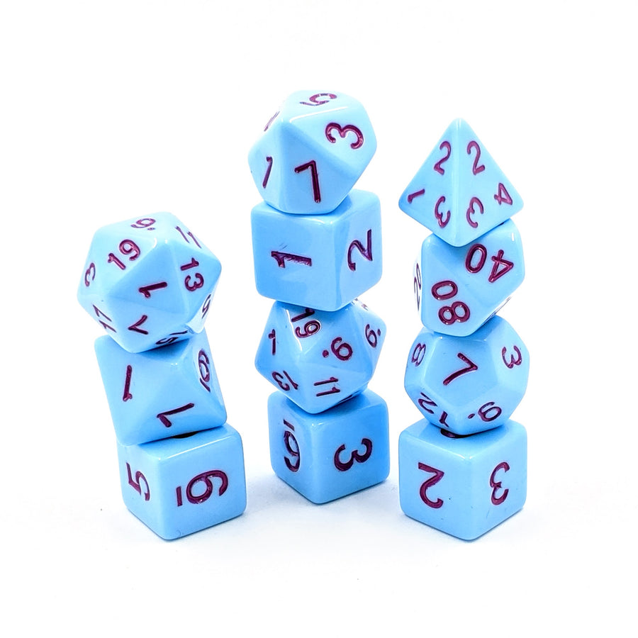 Sorbet in Blue | 11pc Dice Set