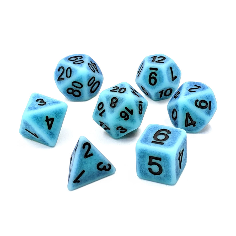 Ancient Turquoise | Dice Set