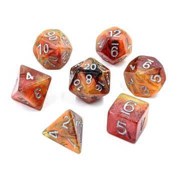 Fire Transmutation | Dice Set
