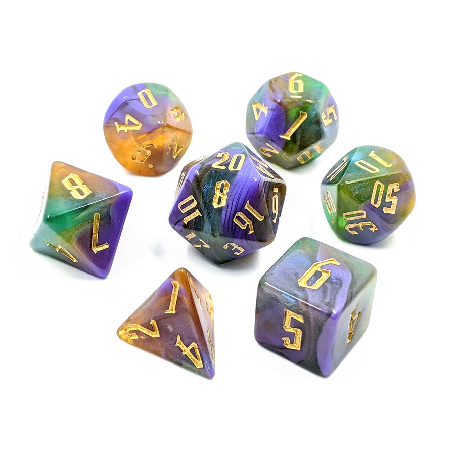 Alchemy Bismuth | Dice Set
