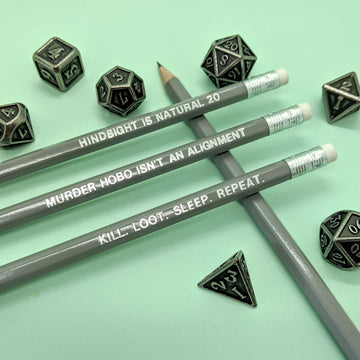 Murder Hobo Pencil Set | Grey