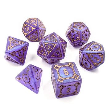 Behemoth Amethyst | Oversized Dice Set