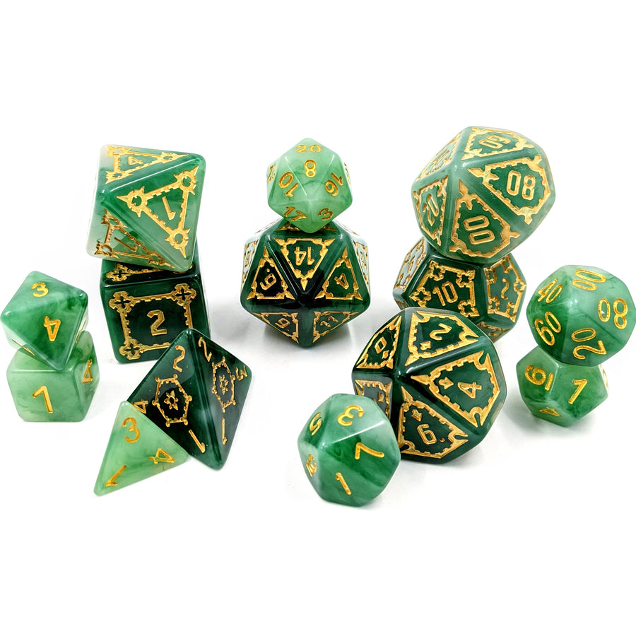 Behemoth Jade | Oversized Dice Set