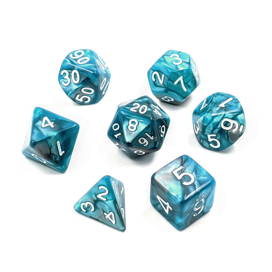 Teal Steel | Dice Set