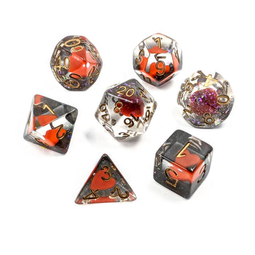 Queen of Hearts | Dice Set