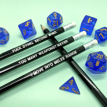 D&D Class Pencil Set | Fighter