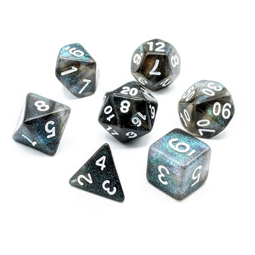 Nebula in Green | Dice Set