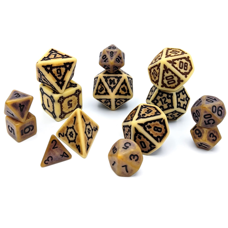 Behemoth Bone | Oversized Dice Set
