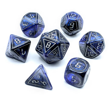 Interstellar Dark Moon | Dice Set