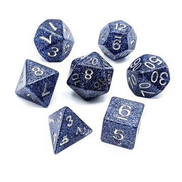 Flash Indigo | Dice Set