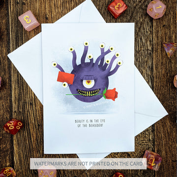Beautiful Beholder Card
