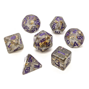 Midas Touch in Grey | Dice Set