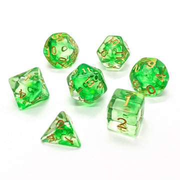 Green Mist | Dice Set