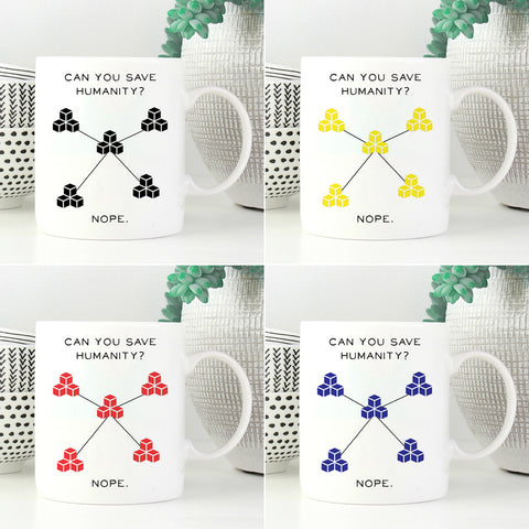 Pandemic Mug Set of 4