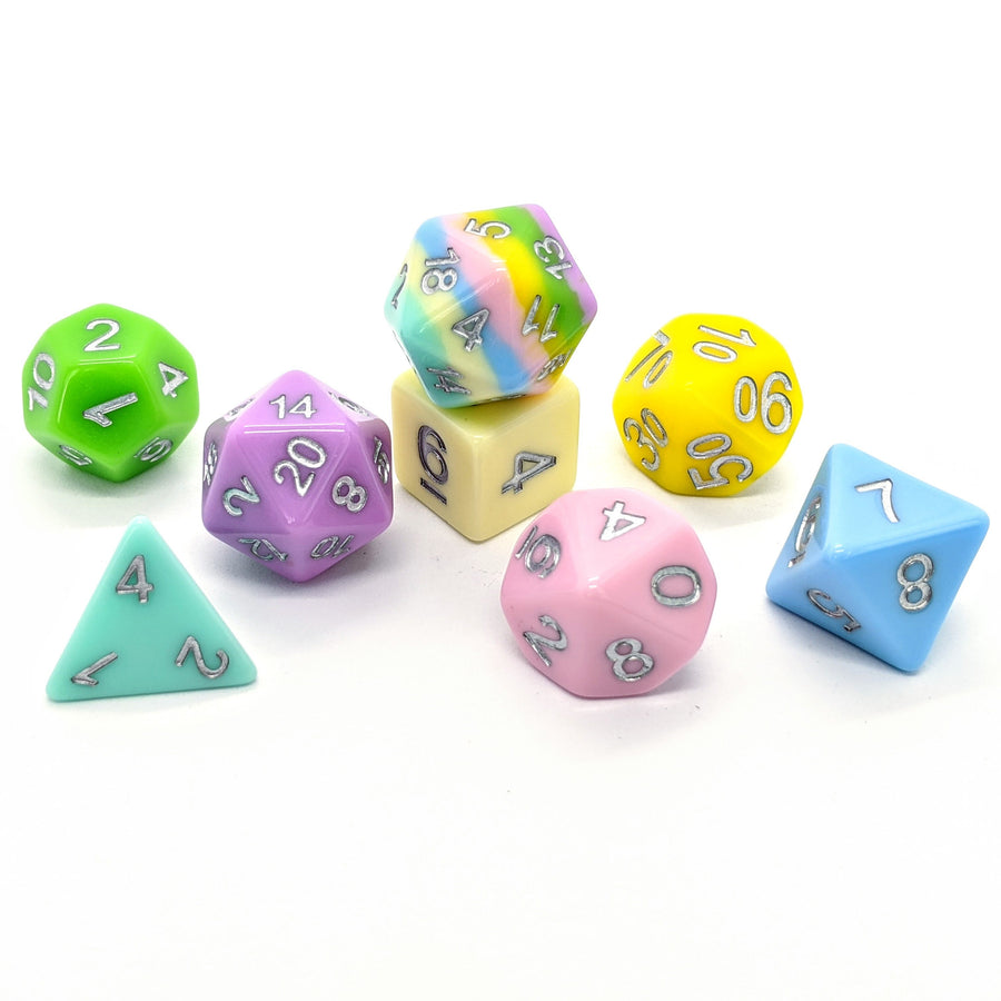 Pastel Palette | 8pc Dice Set