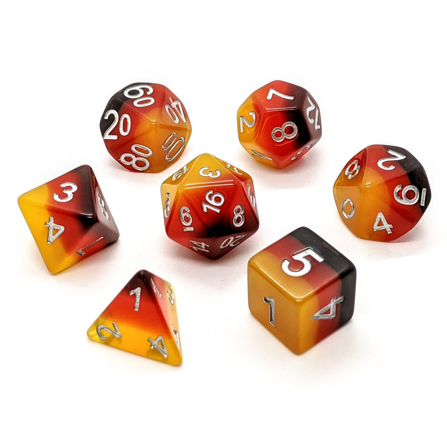 Retro Layers | Dice Set