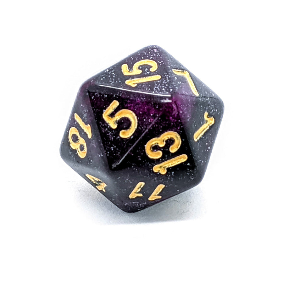 Space Dust in Purple | Dice Set