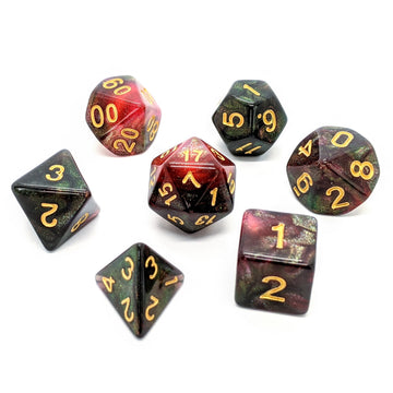 Black Rose | Dice Set