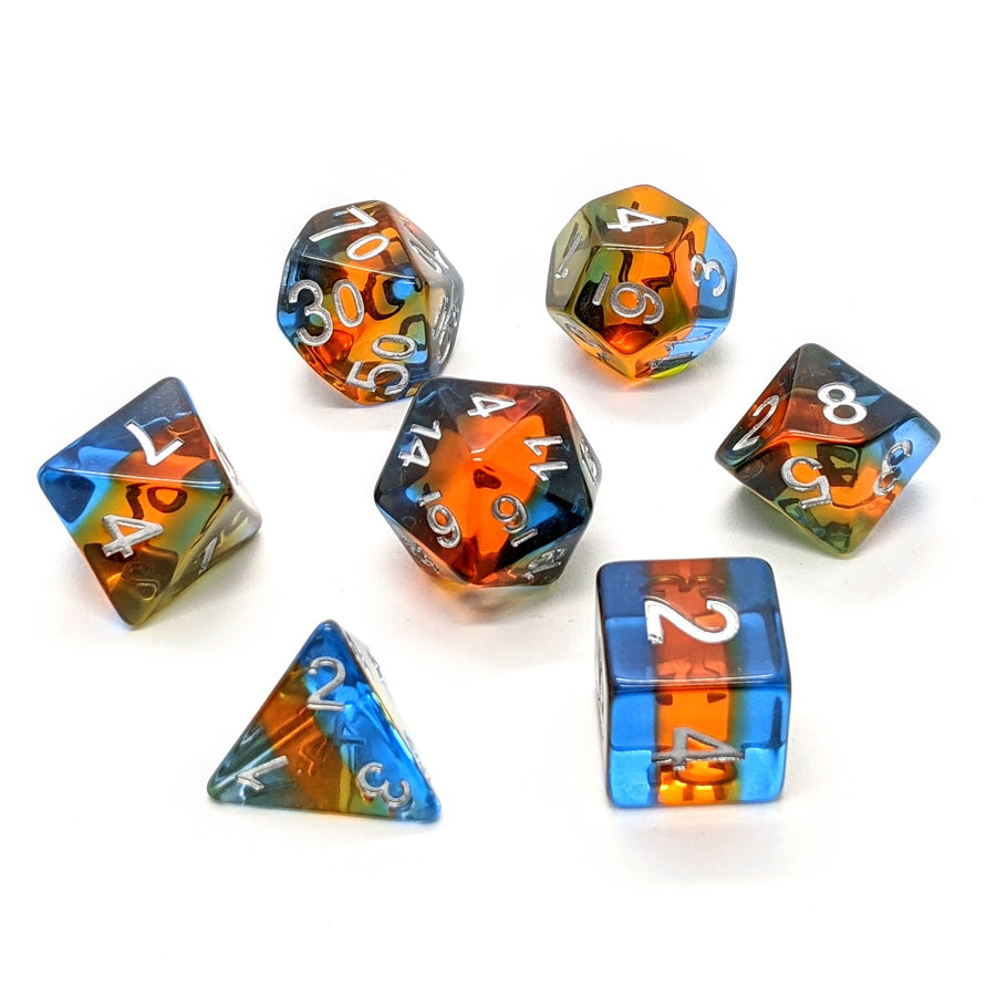 Sunset Layers | Dice Set