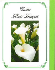 RPE8M Easter Mass Bouquet Card (Sold individually)