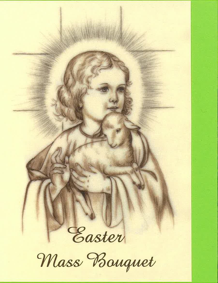 RPR 9M Easter Mass Bouquet Card (Sold individually)