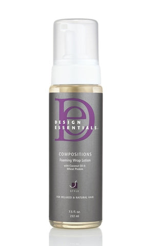 DESIGN ESSENTIALS Foaming Wrap Lotion
