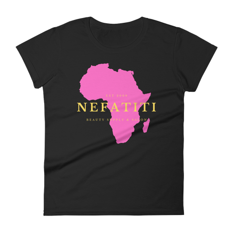 Men's Nefatiti Beauty Africa T-Shirt