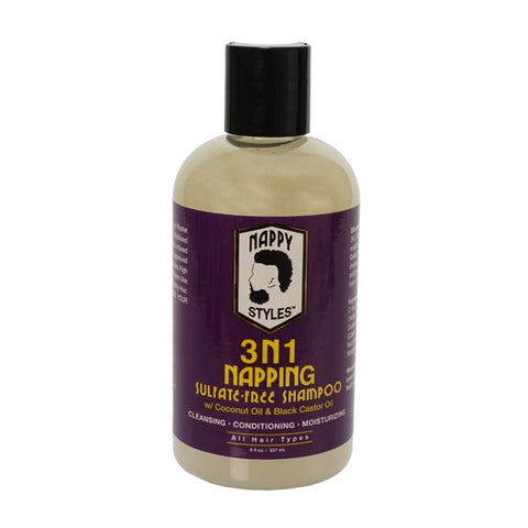 NAPPY STYLES 3 N 1 Napping Sulfate-free Shampoo