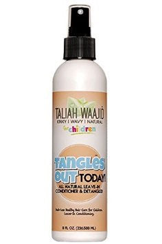 TALIAH WAAJID Tangles out today! Leave-in conditioner and detangler