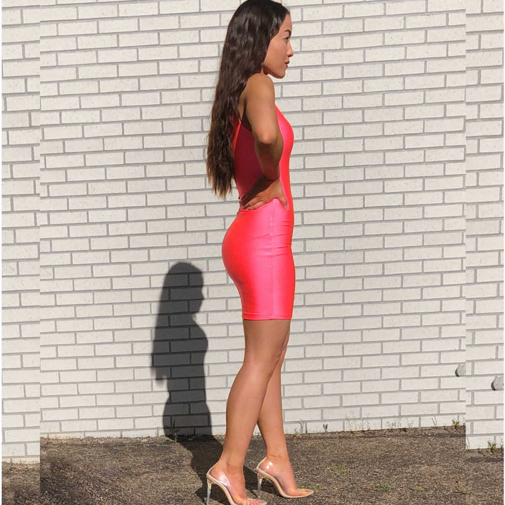 Pink-aholic Bodycon Dress