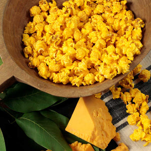 Cheddar Cheese Popcorn - Nibblers Popcorn Company
