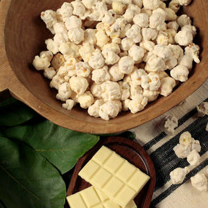 White Chocolate Popcorn - Nibblers Popcorn Company