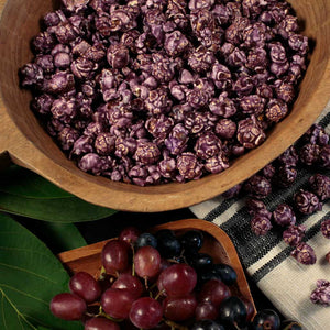 Grape Popcorn - Nibblers Popcorn Company