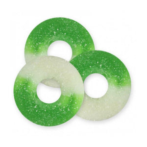 Gummy Apple Rings Confection - Nibblers Popcorn Company