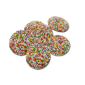 Chocolate Non Pareils Confection - Nibblers Popcorn Company