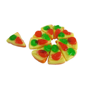 Gummy Pizza Slices Confection - Nibblers Popcorn Company
