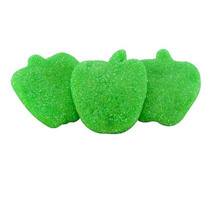 Gummy Sour Green Apples Confection - Nibblers Popcorn Company