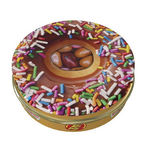 Jelly Belly - Krispy Kreme Jelly Bean Tin Confection - Nibblers Popcorn Company
