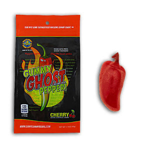 Gummy Ghost Pepper Confection - Nibblers Popcorn Company