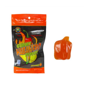 Gummy Habanero Pepper Confection - Nibblers Popcorn Company