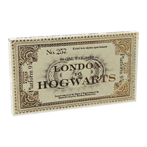 Harry Potter Platform 9 3/4 Ticket Chocolate Bar Confection - Nibblers Popcorn Company