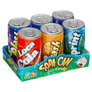 Kidsmania Fizzy Soda Cans Confection - Nibblers Popcorn Company